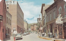 West On Eureka Street, CENTRAL CITY , Colorado, 50-60s - United States