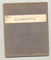 Carte De Géographie Toilée - GLABBEEK 1872  (b271) - Geographische Kaarten