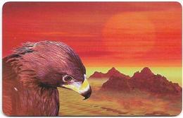 Kazakhstan - Kazakhtelecom (Chip) - Eagle, 1999, SC7, 25Units, Used - Kazachstan