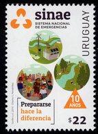 Uruguay - 2019 - National Emergency System SINAE - Mint Stamp - Uruguay