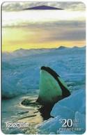 New Zealand - Orca, Antarctica II, 411DO, 1997, 70.000ex, Used - Nouvelle-Zélande