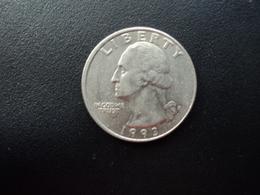 ÉTATS UNIS D'AMÉRIQUE : 1/4 DOLLAR   1993 P   KM A164a    TTB+ - Federal Issues