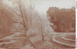 CPA -  Pays Bas, AMERSFOORT, Groot Huis Door Bevroren Rivier, Fotokaart, 1908 - Amersfoort
