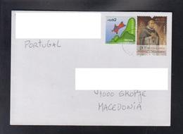 PORTUGAL, COVER / REPUBLIC OF MACEDONIA ** - 1910-... República