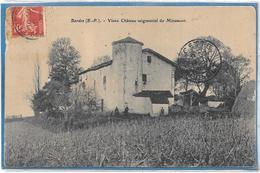 64 . BARDOS  --  VIEUX CHÂTEAU SEIGNEURIAL DE MIRAMONT -- ETAT - France