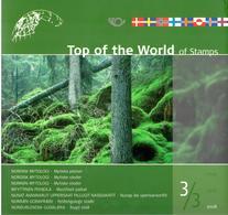 Encart Top Of The World 2008 - Mythologie Nordique 3/3 - Lieux Mythiques - Emisiones Comunes
