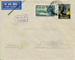 KENYA  UGANDA TANGANYIKA  - 24 AU 1935  , Luftpostbrief Nach Remscheid   -  Big Letter, Dispatch =  4,20 EURO - Kenia (1963-...)