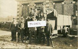Ardennes. Camion Allemand 26/2/1918 Carte PhotoTrouvé Dans Lot Ardennes - France