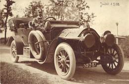 *CPA - FINLANDE - HELSINKI - Carte Photo - Belle Voiture Ancienne Marque Darracq C II De 1911 - Finlandia