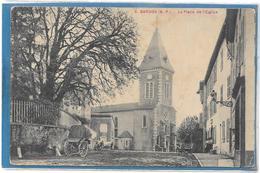 64 . BARDOS  --  LA PLACE DE L ' EGLISE - France