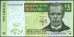 MALAWI - 5 Kwacha 01.03.2004 UNC P.36 B - Malawi
