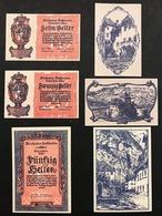 Liechtenstein 10 20  50 Heller 1920 Pick#1 2 3 Fds Unc Lotto.3068 - Liechtenstein