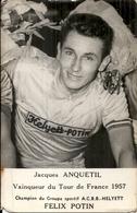 JACQUES ANQUETIL . CYCLISME - Autographes