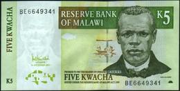 MALAWI - 5 Kwacha 01.12.2005 UNC P.36 C - Malawi