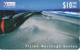 TARJETA DE FIJI DE $10 DE FIJIAN HERITAGE 25FJD - Figi
