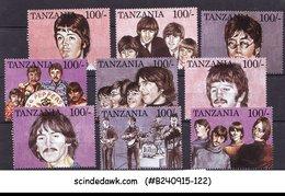 TANZANIA - 1995 THE BEETLES / MUSIC- 9V - MINT NHM - Tanzania (1964-...)