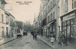 S50-049 Sceaux - Rue Houdan Côté De L'Eglise - Sceaux