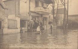 94 / Joinville Le Pont ; Inondations Carte Photo    ///   DEC. 19 ///  REF N° 10.097 - Joinville Le Pont