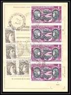55504 Bordeaux Cauderan Gironde Poste Aérienne PA N°47 Boucher Hilsz X 4 Ordre De Reexpedition Temporaire France - Luftpost