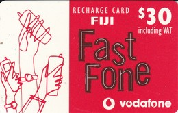 TARJETA DE FIJI DE $30 DE FAST FONE DE VODAFONE - Figi