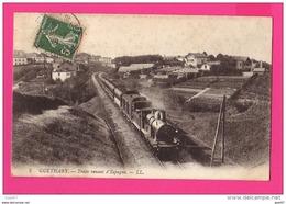 CPA (Réf : PA023) GUÉTHARY (64 PYRÉNÉES ATLANTIQUES) Train Venant D'Espagne (Locomotive à Vapeur) - Guethary