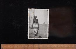 Photographie Photo Nu Femme Africaine Nue Seins Nus Ethnique 1942 Breast Nude African Woman - Afrique Du Sud, Est, Ouest