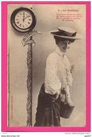 CPA  (Réf : (PA182) La Midinette (beau Chapeau)   Bergeret - Femmes