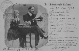 STENOGRAPHIE  LAFAURIE - Théme ECOLE -  1903 - Schools
