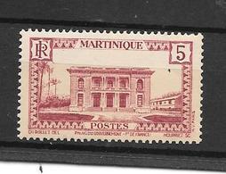 Martinique:n°136** (5c Lie De Vin) - Ungebraucht