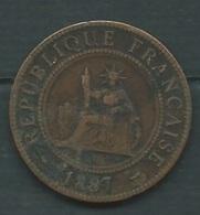 1 Centime, Indochine Française 1887 ( - Laupi12103 - Kolonien