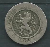 Belgique- - 10 Centimes 1862  - Laupi12107 - 1831-1865: Léopold I.