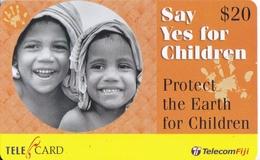 TARJETA DE FIJI DE $20 DE SAY YES FOR CHILDREN - Fiji