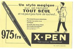 BUVARD X - PEN - Buvards, Protège-cahiers Illustrés