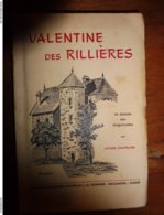 1965  VALENTINE DES RILLIÈRES - Un épisode Des Dragonnades - Dédicacé à Michèle Locatelli - Books, Magazines, Comics