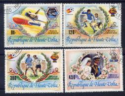 Hte VOLTA - A237/240° - EVENEMENTS RECENTS - Upper Volta (1958-1984)