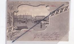 Lettonie ; Libau .Stadtbrücke  (superbe Carte Précurseur , Vu Sur La Ville,pont,tramway) - Letland