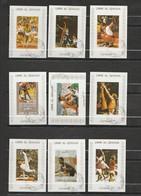 Umm Al Qiwain - Lot De 16 Timbres Jeux Olympique De Munich 1972 Mi 938 à 953 - Umm Al-Qiwain