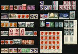 REUNION CFA - LOT DE 1669 TIMBRES ** - Réunion (1852-1975)