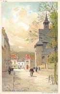 L'église De Tervueren  Lith J.L. Goffart    Barry 3286 - Illustrateurs & Photographes
