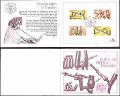 Transkei - 1978 - Woodcarving - Smoking Pipes - Single Collectors Folder - Transkei