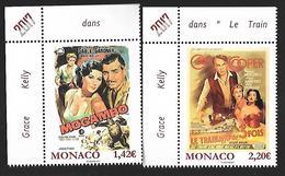 Monaco 2017 - Yv N° 3064 & 3065 ** Les Films De Grace Kelly - Mogambo Et Le Train Sifflera 3 Fois (Mi N° 3322/23) - Monaco
