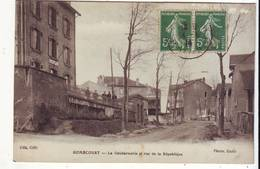 Cpa  Homecourt  La Gendarmerie - Homecourt