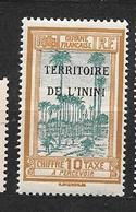 ININI:timbre Taxe  N°2** - Inini (1932-1947)