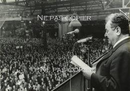 MAI 1968 Grève Régie Renault Président CGT Benoît Franchon 27 Mai - Foto