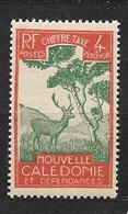 Nouvelle-Calédonie Et Dépendances:timbre Taxe Y & T N°27 ** - Nieuw-Caledonië