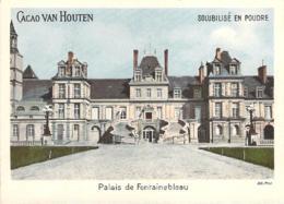 Grand Chromo Cacao Chocolat Van Houten Palais De Fontainebleau - Van Houten
