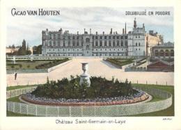 Grand Chromo Cacao Chocolat Van Houten Chateau De Saint-Germain En Laye - Van Houten