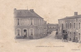 LANDEMONT PRINCIPAUX HOTELS CARTE ONDULEE ET DECOLLEE VOIR SCAN - France
