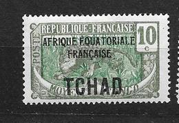 Tchad: N°23 ** Type Du Congo - Tschad (1922-1936)