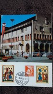 CPSM VADUZ LIECHTENSTEIN GEMEINDE RATHAUS 1968 - Liechtenstein